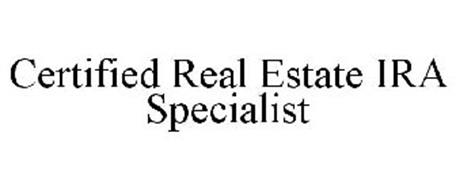 CERTIFIED REAL ESTATE IRA SPECIALIST