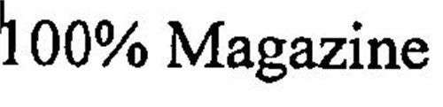 100% MAGAZINE