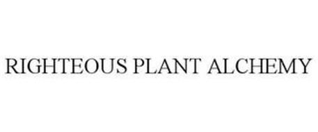 RIGHTEOUS PLANT ALCHEMY