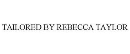 TAILORED BY REBECCA TAYLOR
