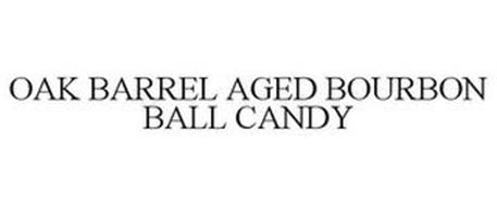 OAK BARREL AGED BOURBON BALL CANDY