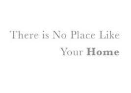 THERE IS NO PLACE LIKE YOUR HOME
