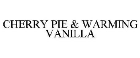 CHERRY PIE & WARMING VANILLA