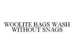 WOOLITE BAGS WASH WITHOUT SNAGS Trademark of Reckitt ...