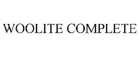WOOLITE COMPLETE Trademark of Reckitt Benckiser LLC Serial ...