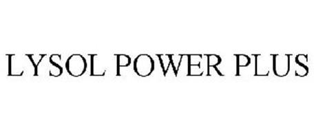 LYSOL POWER PLUS