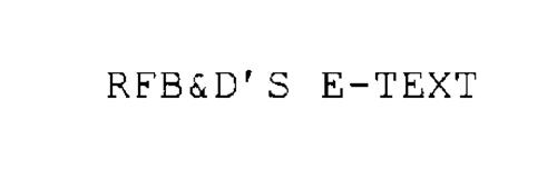 RFB&D'S E-TEXT
