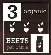 3 ORGANIC BEETS PER BOTTLE