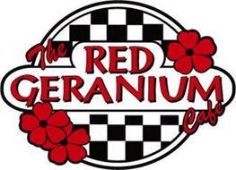 THE RED GERANIUM CAFE