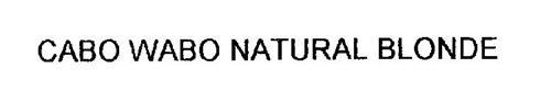 CABO WABO NATURAL BLONDE
