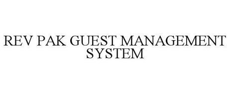 REV PAK GUEST MANAGEMENT SYSTEM
