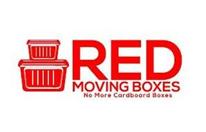 RED MOVING BOXES NO MORE CARDBOARD BOXES