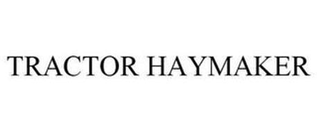 TRACTOR HAYMAKER