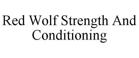 RED WOLF STRENGTH AND CONDITIONING