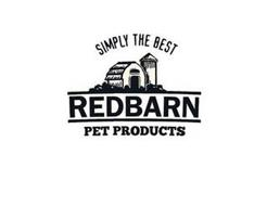 SIMPLY THE BEST REDBARN PET PRODUCTS
