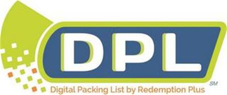 DPL DIGITAL PACKING LIST BY REDEMPTION PLUS