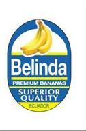 BELINDA PREMIUM BANANAS SUPERIOR QUALITY ECUADOR