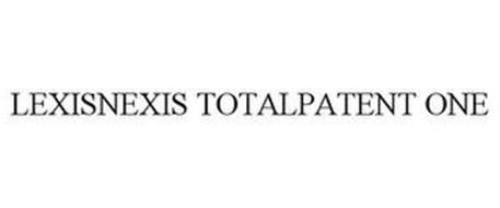 LEXISNEXIS TOTALPATENT ONE