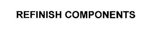 REFINISH COMPONENTS