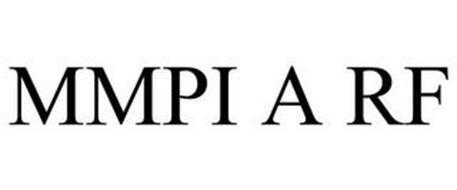 MMPI A RF