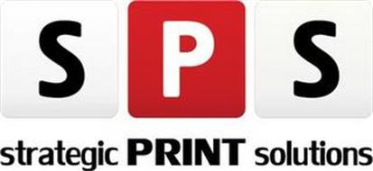 S P S STRATEGIC PRINT SOLUTIONS