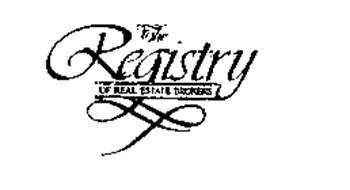 THE REGISTRY OF REAL ESTATE BROKERS