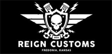 2014 REIGN CUSTOMS FREDONIA, KANSAS