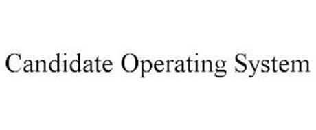 CANDIDATE OPERATING SYSTEM