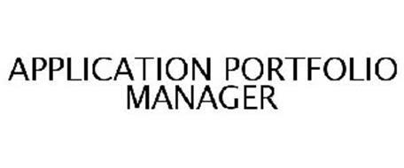 APPLICATION PORTFOLIO MANAGER