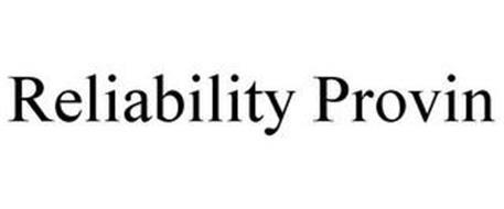 RELIABILITY PROVIN