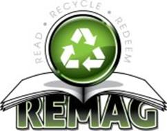 REMAG READ · RECYCLE · REDEEM