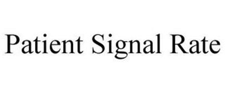 PATIENT SIGNAL RATE