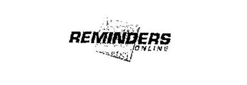 REMINDERS ON LINE