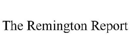 THE REMINGTON REPORT