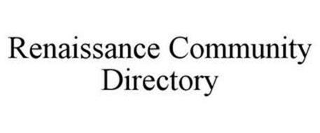 RENAISSANCE COMMUNITY DIRECTORY