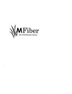 MFIBER THE WHOLESOME CHOICE