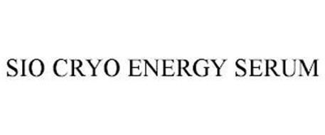 SIO CRYO ENERGY SERUM