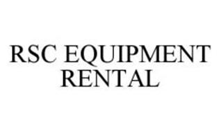 RSC EQUIPMENT RENTAL