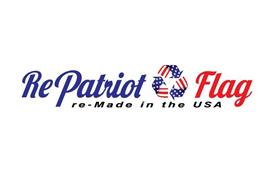 REPATRIOT FLAG RE-MADE IN THE USA