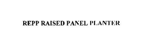 REPP RAISED PANEL PLANTER