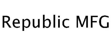 REPUBLIC MFG