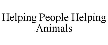 HELPING PEOPLE HELPING ANIMALS