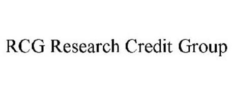 RCG RESEARCH CREDIT GROUP