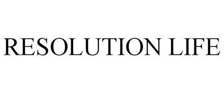 RESOLUTION LIFE
