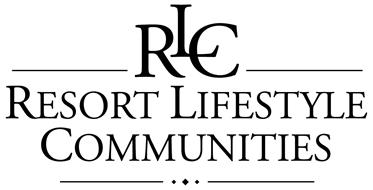 RLC RESORT LIFESTYLE COMMUNITIES