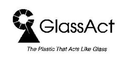 GLASSACT THE PLASTIC THAT ACTS LIKE GLASS