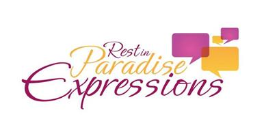 REST IN PARADISE EXPRESSIONS