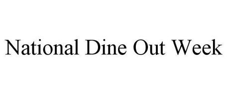NATIONAL DINE OUT WEEK