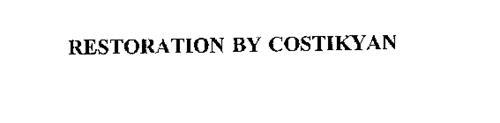 RESTORATION BY COSTIKYAN