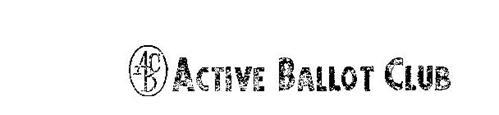 ACTIVE BALLOT CLUB